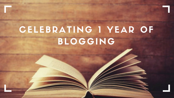 CELEBRATING 1 YEAR OF BLOGGING